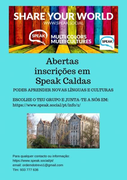 Projecto Speak Caldas
