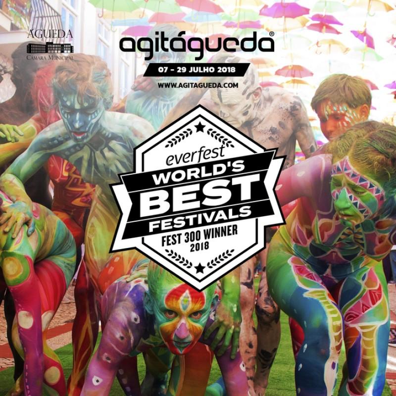 AgitAgueda recebe Selo FEST300 2018 - Os Melhores Festivais do Mundo
