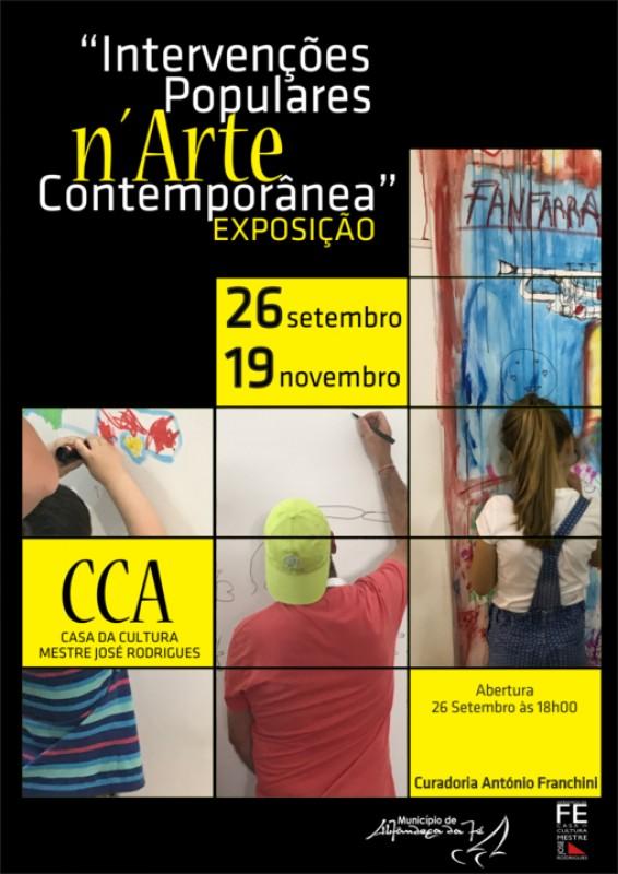 Intervenções Populares n'Arte Contemporânea Portuguesa Obras criadas durante a Festa da Cereja vão ser expostas na Casa da Cultura