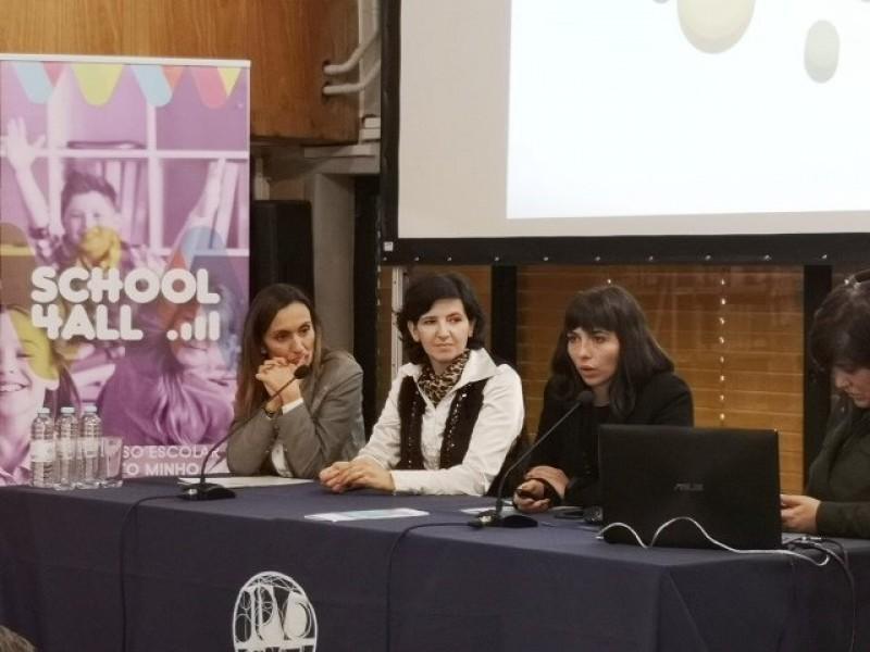 School 4 All  -  Arcos de Valdevez marcou presença no primeiro seminário de apresentação das ações do projeto arcuense