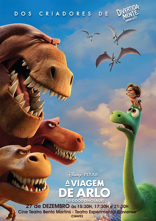 CINEMA: A VIAGEM DE ARLO (THE GOOD DINOSAUR)