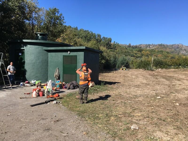 Beneficiacao de perimetro da captacao de abastecimento de agua de S. Nicolau