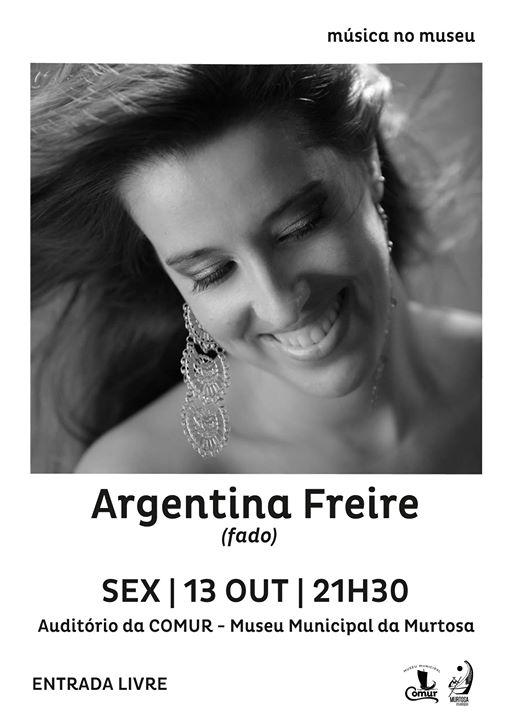 Concerto da Fadista Argentina Freire