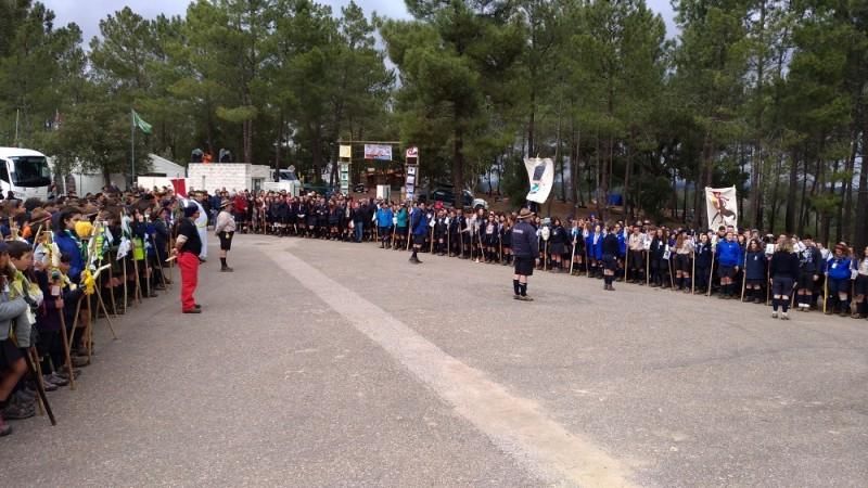 Acampamento de escuteiros Margaridas  reuniu 860 escuteiros em Constância