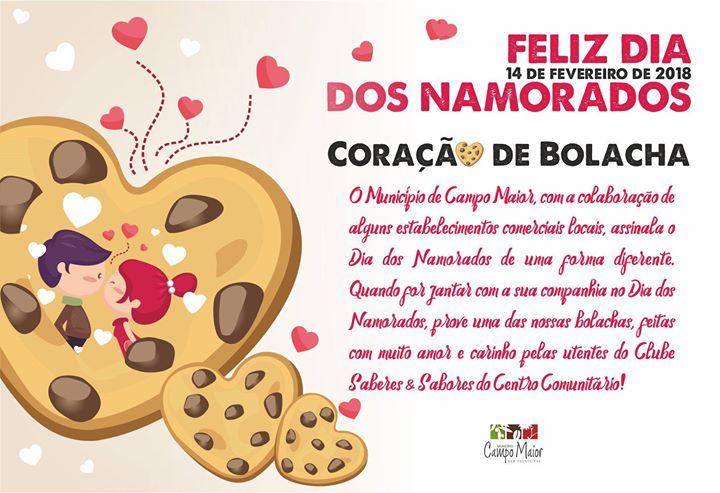 Dia dos Namorados - Coração de Bolacha