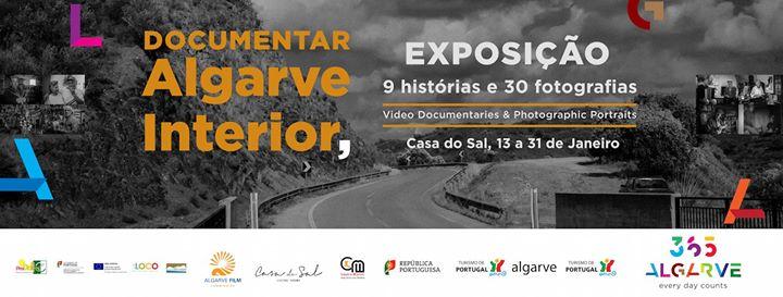 Exposição Documentar Algarve Interior