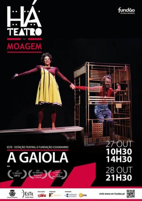 Peca de Teatro -A Gaiola-