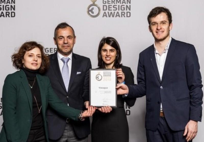 Garrafa reutilizável da Vimágua distinguida com Winner Award