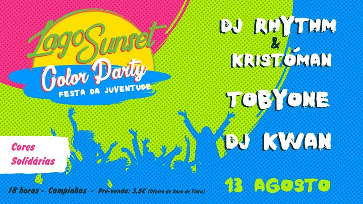 Lagos Sunset Color Party - Festa da Juventude