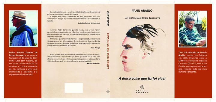 """Livro - """"A única coisa que fiz foi viver:um diálogo com P. Canav"""
