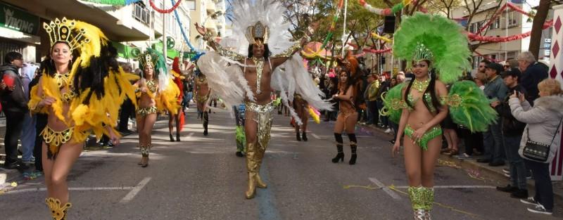Carnaval de Loulé 2018 reafirmou preferência dos foliões nacionais e estrangeiros à procura de sol, diversão e criatividade