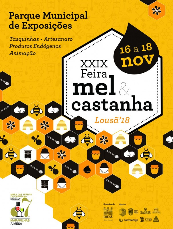 XXIX Feira do Mel e da Castanha da Lousã.
