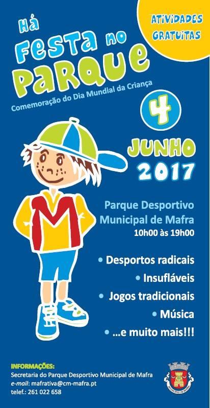 Resultado de imagem para HÁ FESTA NO PARQUE MAFRA 2017