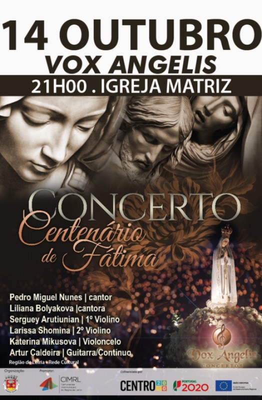 Vox Angelis em concerto na Igreja Matriz