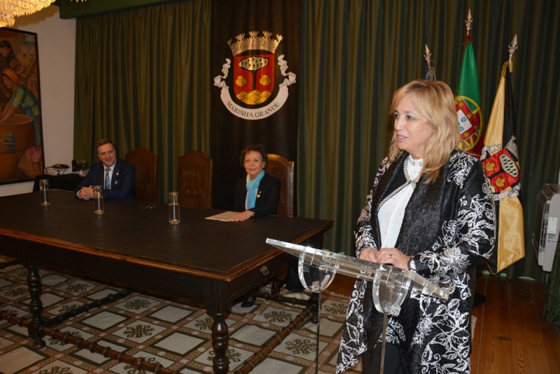 Governador do Rotary recebido no Município
