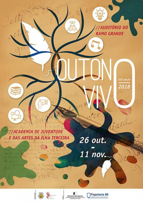 Outono Vivo - festival literário