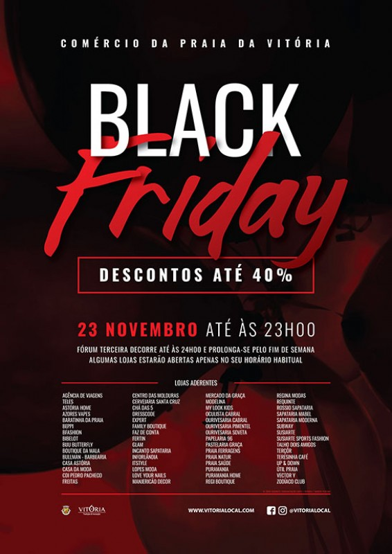 82988687e Promocao do comercio local Black Friday e o Anual Sorteio de Natal ...