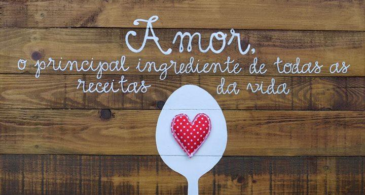 """Receita para a vida – """"Amor"""""""