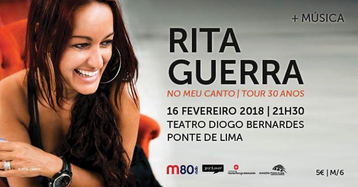 Rita Guerra No Meu Canto - Tour 30 Anos
