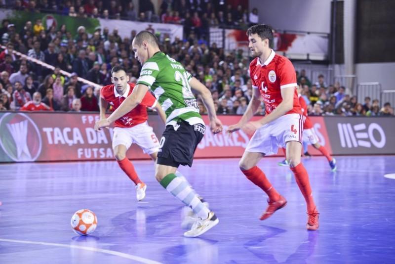 Taça da Liga de Futsal 2019 no Multiusos de Sines