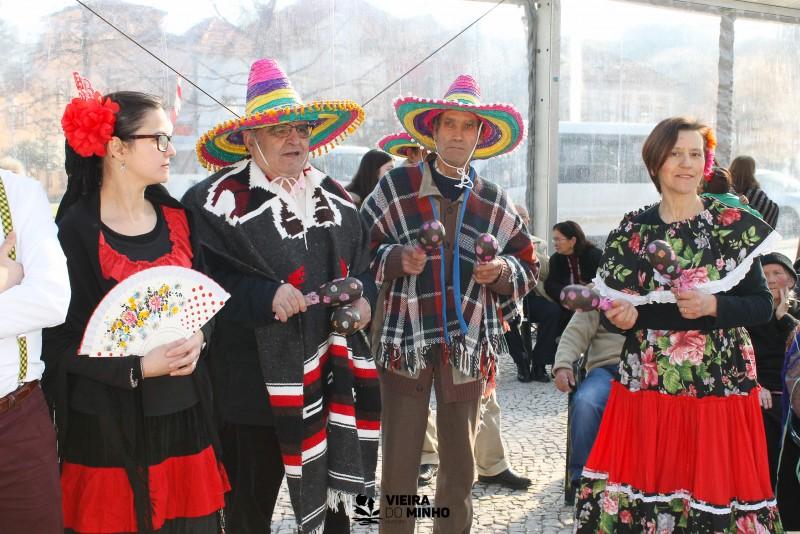 Seniores de Vieira do Minho festejam Carnaval