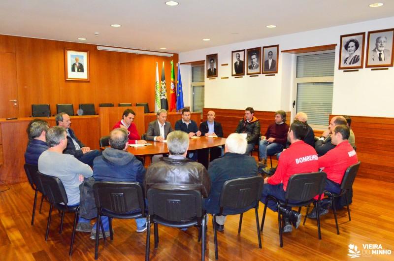 António Cardoso reuniu ontem com os Presidentes de Junta do Concelho