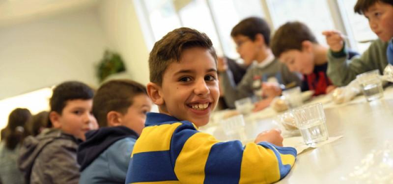 Escolas são amigas da alimentação saudável