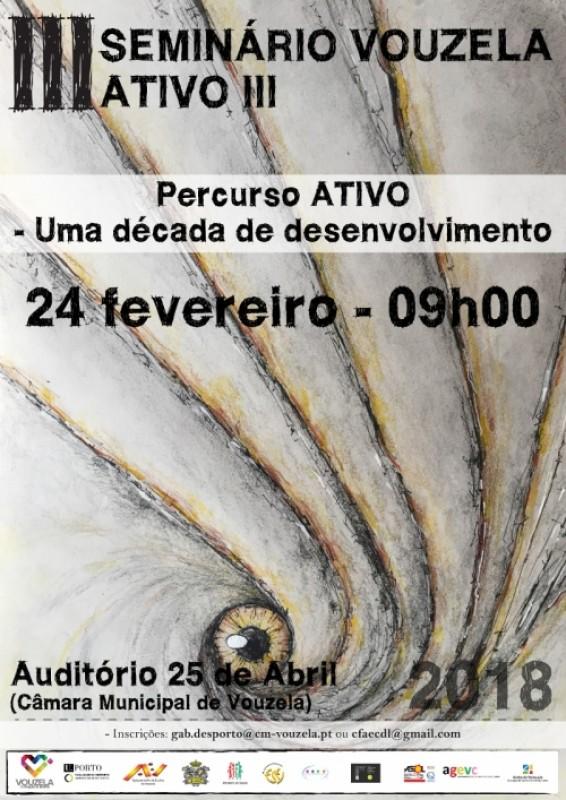 Vouzela ATIVO III é apresentado no dia 24 de fevereiro