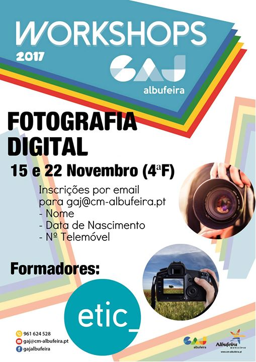Workshops GAJ - Fotografia Digital
